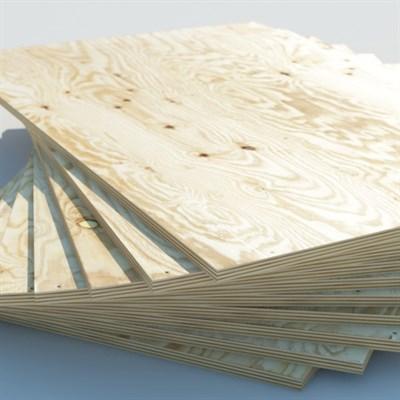 Фанера хвойная влагостойкая ФСФ 2440 х 1220х 6.5 мм - фото 4613