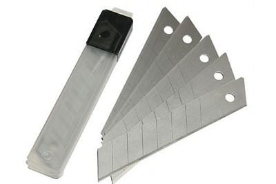 Запасные лезвия для строительного ножа 25мм (5шт) - фото 4840