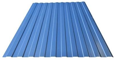 Профнастил окрашенный С8 светло-синий 1,2 х 3м (0,45мм) - фото 5100