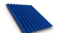 Профнастил окрашенный С21  темно-синий 1,055 х 2м (0,45мм) - фото 5180