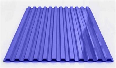 Профнастил окрашенный С21  светло-синий 1,055 х 6м (0,45мм) - фото 5183