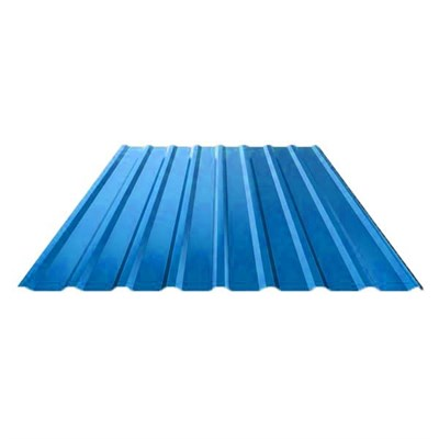 Профнастил оцинкованный НС20 (0,45) 1150 х 3000 мм светло-синий - фото 5334
