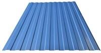 Профнастил оцинкованный С10 светло-синий 1150 х 6000 мм (0,45)