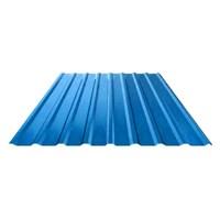 Профнастил оцинкованный НС20 (0,45) 1150 х 3000 мм светло-синий