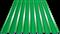 Профнастил оцинкованный НС20 (0,45) 1150 х 6000 мм - зелёная мята - фото 5351